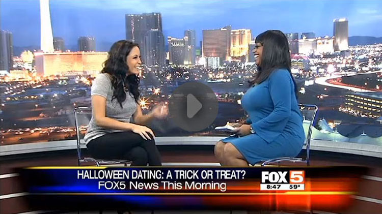 Kelly Rossi and Monica Jackson on Fox5 Las Vegas talking about Dating the Wrong Men