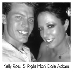 Kelly Rossi and Dale Adams