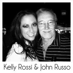 Kelly Rossi and John Russo